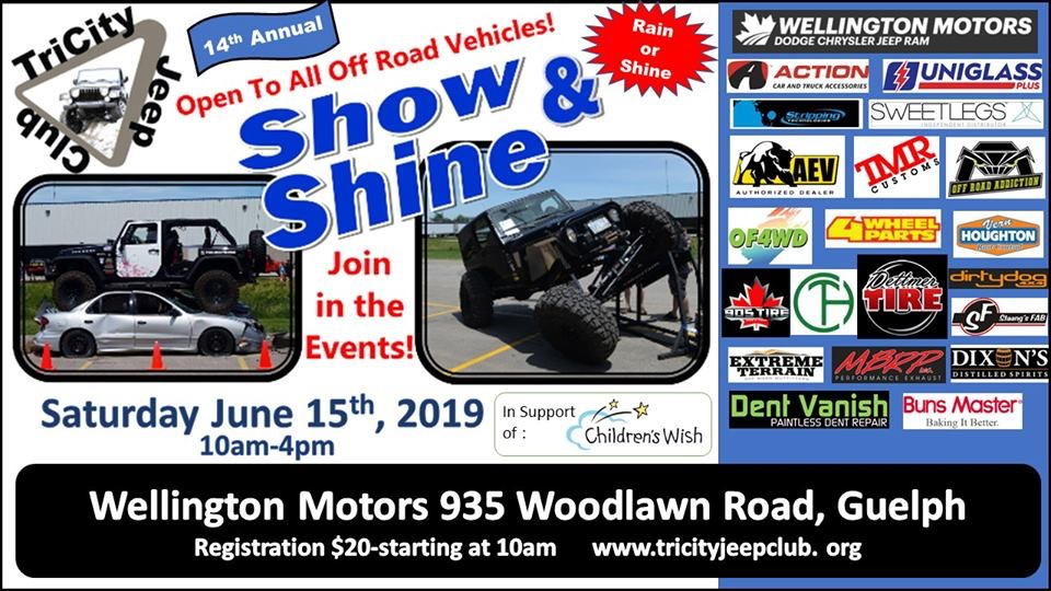 Tri-City Jeep Club Show & Shine 2020 @ Wellington Motors | Guelph | Ontario | Canada